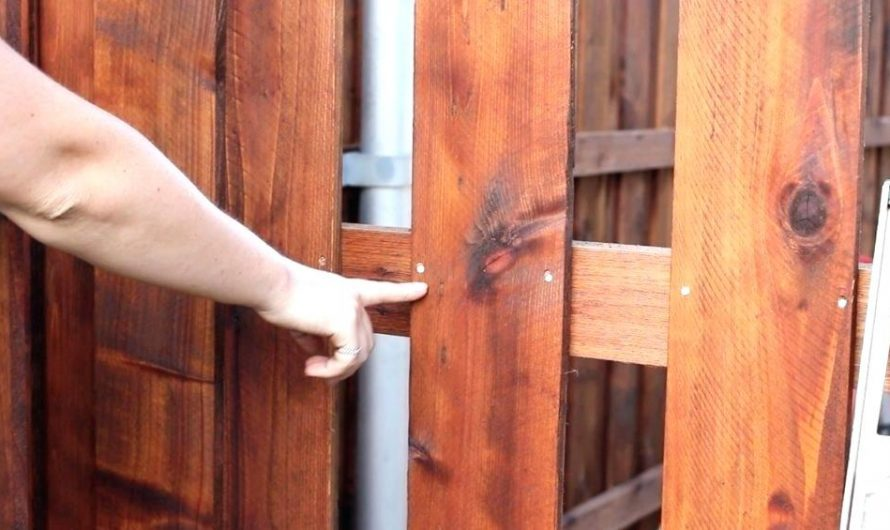 Choosing the best screws for wood fence
